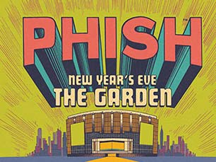 Phish New Year's Eve 2017 Madison Square Garden