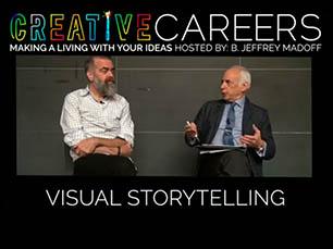 Set designer David Gallo with Professor Jeffrey Madoff