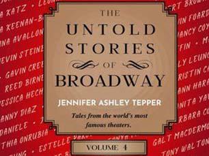 Cover art: Untold Stories of Broadway, Vol. 4