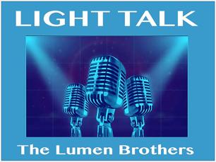 The Lumen Brothers Light Talk logo